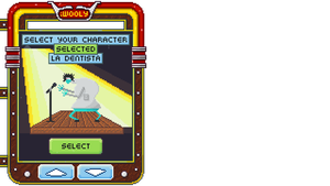 Character Select User Interface by RollToNotDie