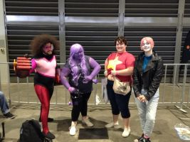 Supanova 2017: Group shot 2 (ft Bad Pearl!) by FFiamgoku
