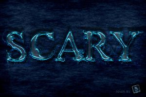 Free Scary Text Effect - Photoshop Tutorial by survivorcz