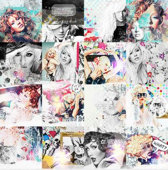 Christina Aguilera icons 6 by Missesglass