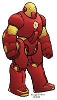 Project Rooftop: Ironman by sobreiro