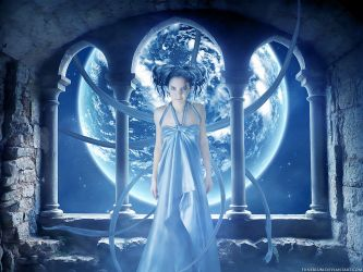 The blue lotus by Funerium