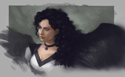 Yennefer of Vengerberg by Charmrock