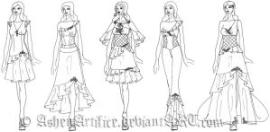 2012 Collection Preview by AshenArtifice