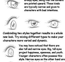 Different Eye Style Guide by mooncats5