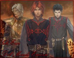 Emerged World's heros -boys- by NihalDarko
