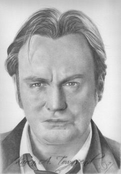 Gene Hunt - Philip Glenister by Karentownsend