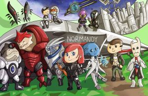Mass Effect: New Leaf by Forever-Nocturne