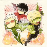 Chibi Asemble .:Young Avengers:. by GYRHS