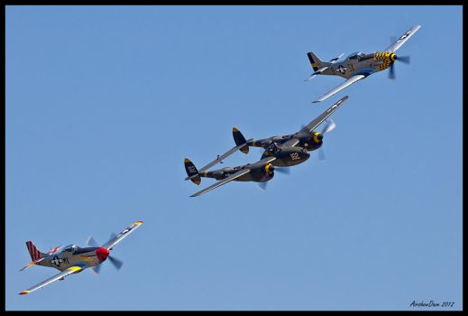 Horsemen 2012 IV by AirshowDave