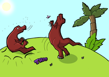 One thing T-Rexs can't do... by RaptorRex