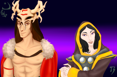 Legacy of Kain:Bane and DeJoule. by Sverdy