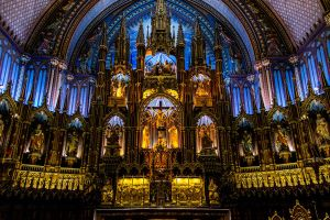 Notre Dame, Montreal by nigel3