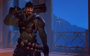 Blackwatch Reyes (Reaper Skin) - Overwatch by PlanK-69