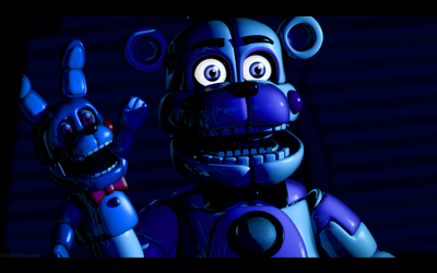 C4d | I know you're over there somewhere! by The-Smileyy