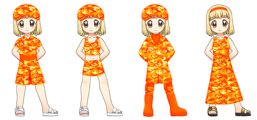 Medical Loli Corps uniforms by RTCF
