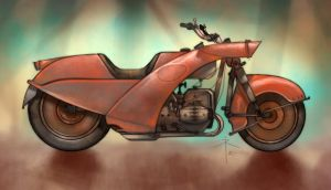 291008 - motorcycle by 600v