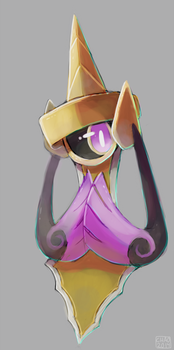 Aegislash by ChocoChaoFun
