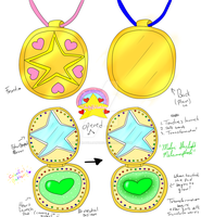 Starlight Maidens: New Locket Ref. by Miss-Gravillian1992