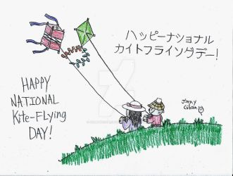 Happy National Kite-Flying Day! by CelmationPrince