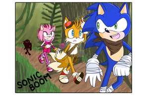 SONIC BOOM by SonicGotSwag