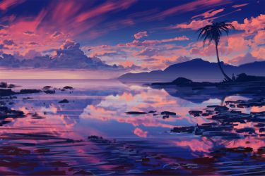 Sunset Sketch + Time Lapse video by arcipello