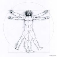 Vitruvian Man by AndyBuck