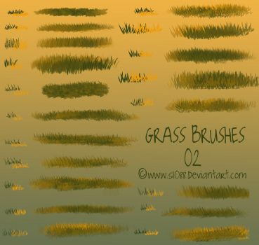 Free PS Grass Brushes 2 by s1088