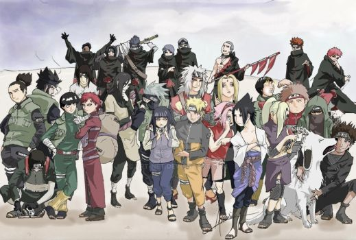 Reuniting the Shinobi by art-net