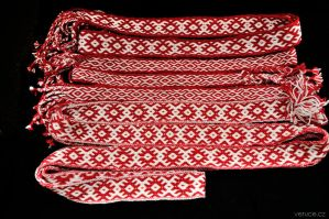 Tablet woven slavic belts by veruce