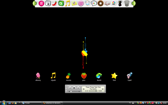 iApple Desktop by alkalines