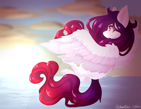 Lu and lineless by Chloodle