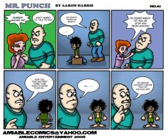 Mr. Punch no.41 by aarongharris