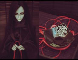 Red Thread of His Thoughts. by Shizuka-Lunacy