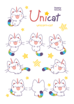 Unicat Reference Sheet by Daieny