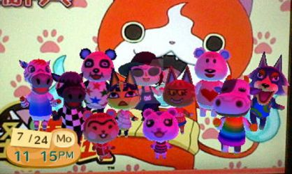 Animal Crossing New Leaf ~ My Villagers by qstarfire