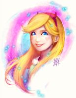 Star Butterfly, from Star vs the Forces of Evil by Bathiel