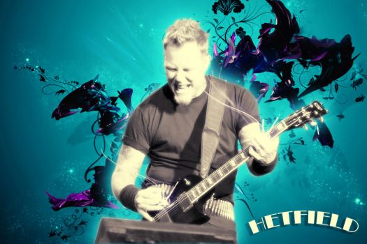 Metallica-Hetfield by raditzintli