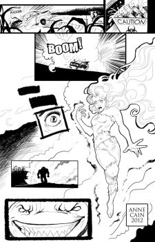 Comic Book Page: Blaze p2 by annecain