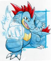 Feraligatr's Ice Punch