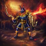 Sand Demon Ares by Archalos