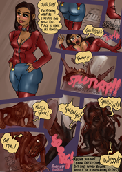 Commission - Regina's humiliation in BBQ Sauce by Scatina