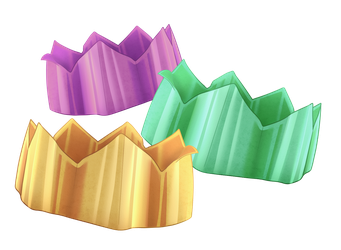 Party Cracker Paper Hats by SlayersStronghold
