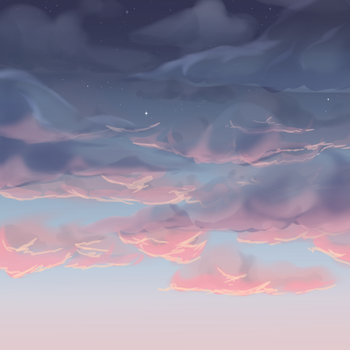 Sky Practice by DaniGhost