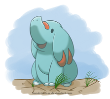 Phanpy by Sandstormer