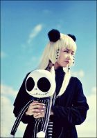 Chii: With Jack Skellington by slumberdoll