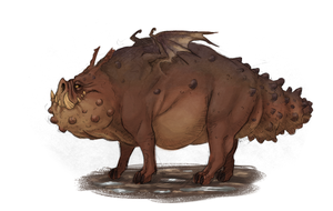 HTTYD - Gronckle by Jakiron
