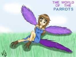 The World Of The Parrots by Ningaka