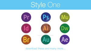Adobe Icons Style One by hamzasaleem