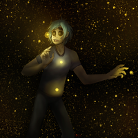 -I was ever chasing fire flies- by TheSaladCram